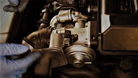 BMW 330D E90 : remontage vanne EGR
